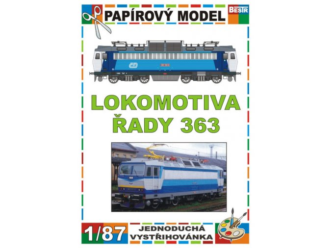 363 - dvousystémová elektrická lokomotiva