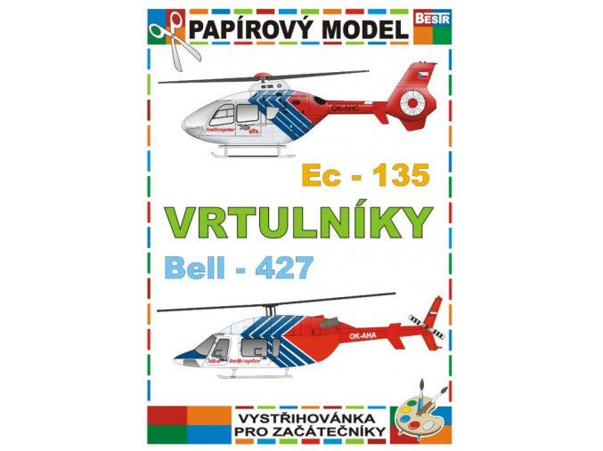 Eurocopter EC-135 + Bell - 427 (Vrtulníky)