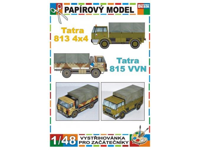 Tatra 813 4x4 + Tatra 815 VVN