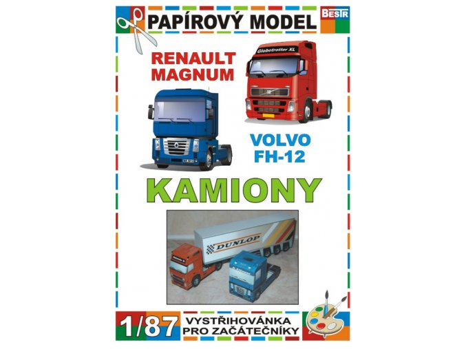 Renault Magnum + Volvo FH-12 (Kamiony)