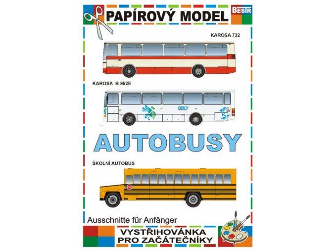 Karosa 732 + Karosa B 952E + školní autobus
