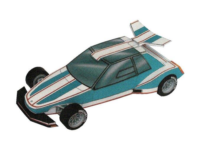 sportovní auto - prototyp