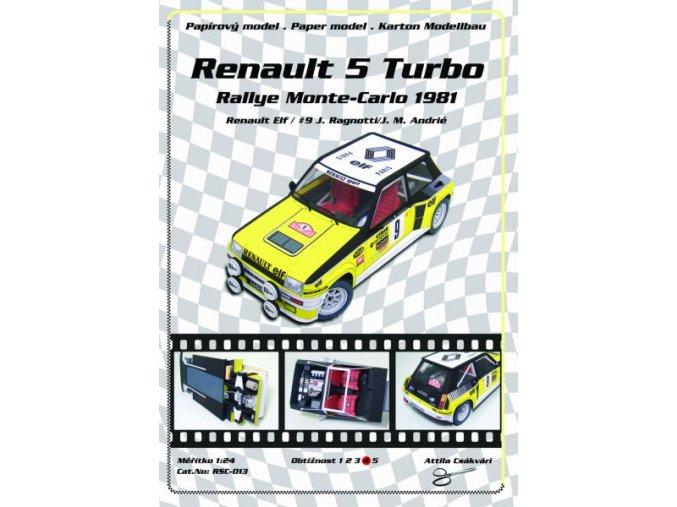 Renault 5 Turbo Rally Monte-Carlo 1981
