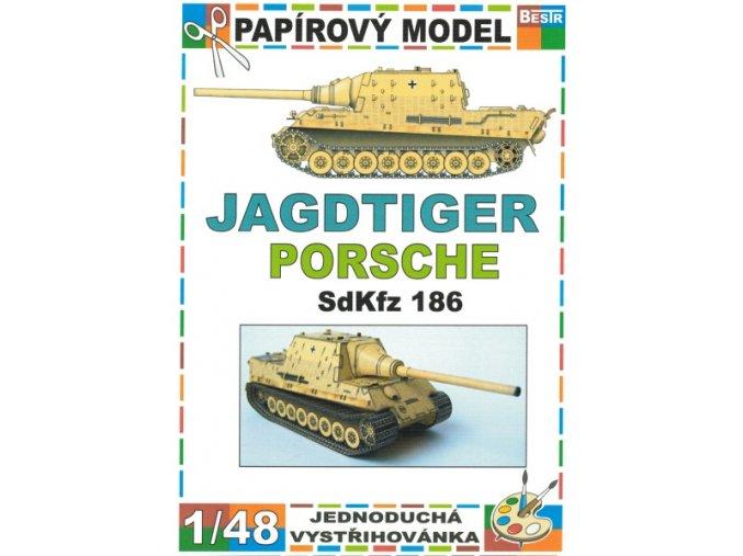 Jagdtiger Porsche SdKfz 186