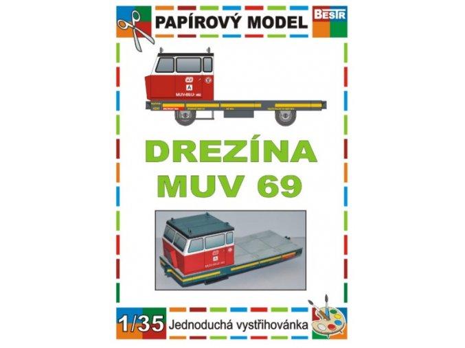 MUV 69 - úzkorozchodná drezína