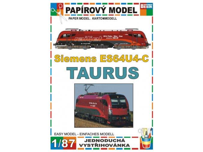 ES64U4-C - Taurus - elektrická lokomotiva