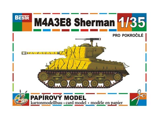 M4A3E8 Sherman Korean War