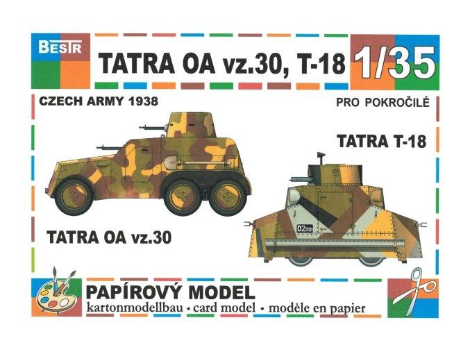 Tatra OA vz.30 + Tatra T-18