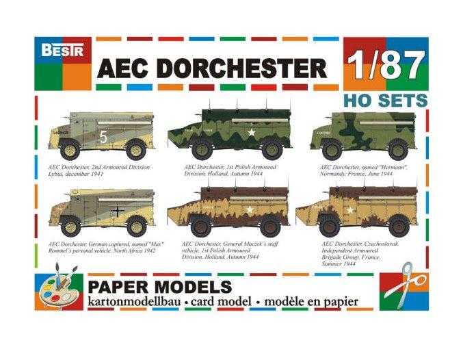 AEC Dorchester - 6 různých verzí