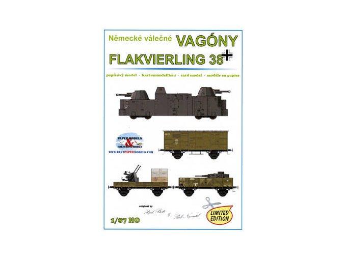 Flakvierling 38 (německé válečné vagóny)