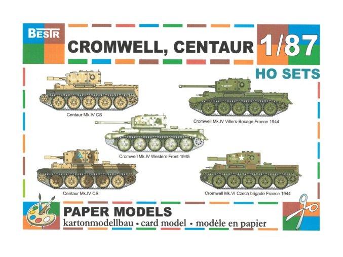 Cromwell, Centaur - 5ks (2x Centaur Mk.IV CS, 3x Cromwell Mk.IV)