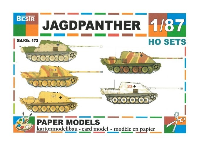 Jagdpanther SdKfz 173 - 5ks