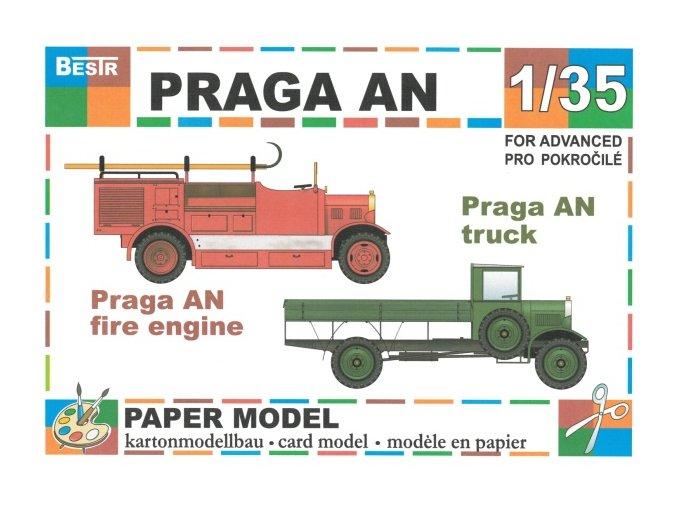 Praga AN - 2 verze