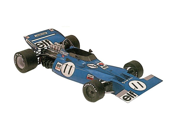 Tyrrell Ford 001