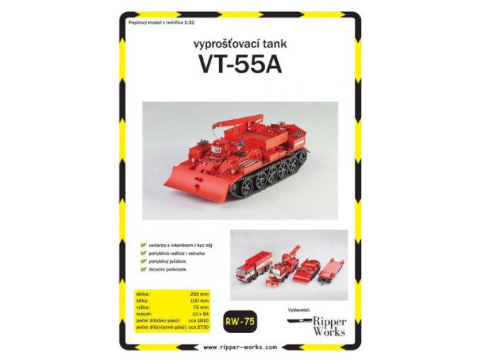 VT-55A - vyprošťovací tank HZS SŽDC