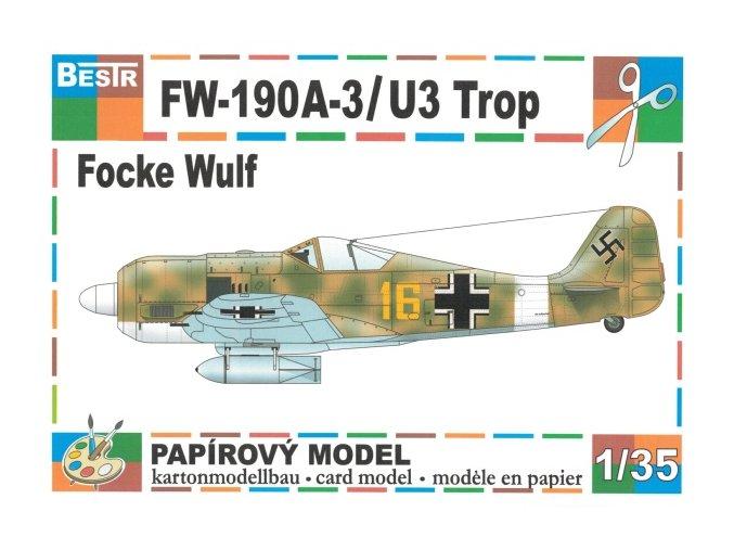 FW-190A-3/U3 Trop