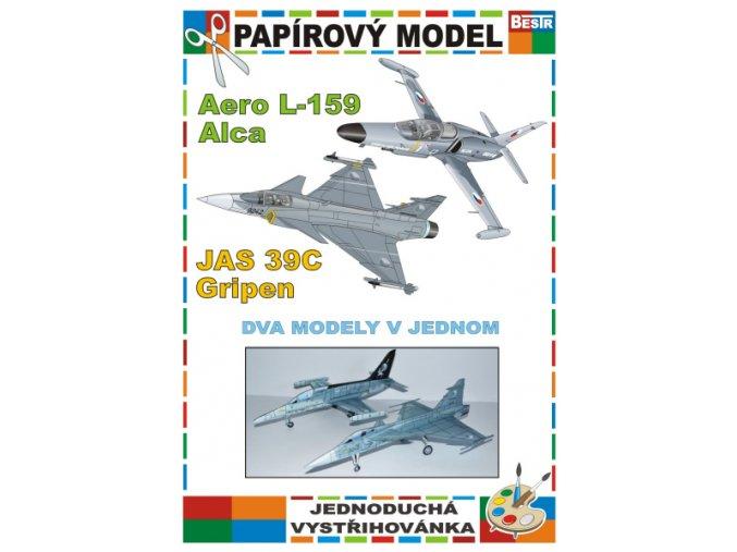 Aero L-159 Alca + JAS 39C Gripen