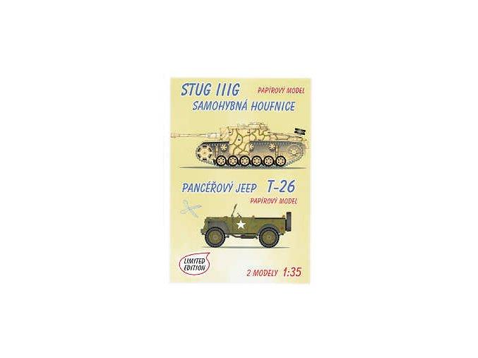 Stug III G + Jeep T-26