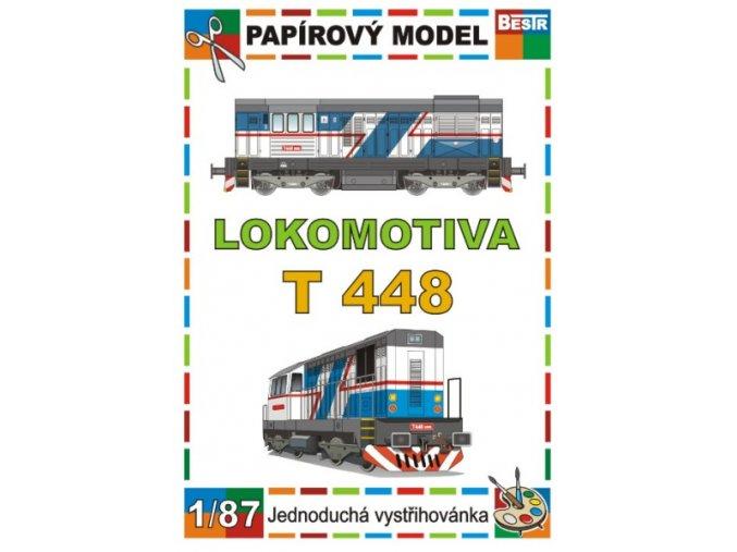 T 448 - dieselová lokomotiva řady 740