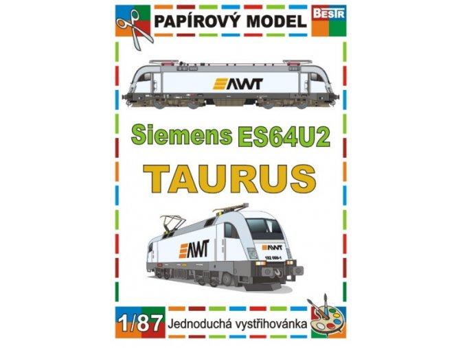 ES64U2 - Taurus - elektrická lokomotiva
