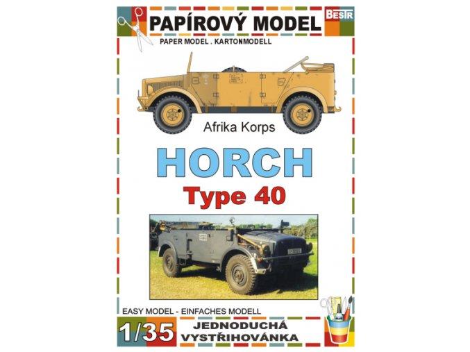 Horch 108 Type 40 - Afrika Korps