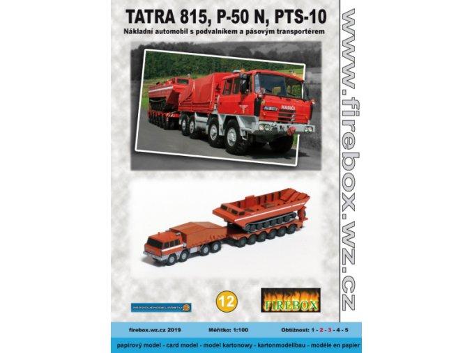 Tatra 815 + P-50 + PTS-10
