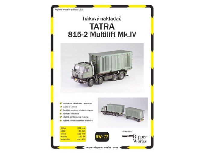 Tatra 815-2 Multilift Mk.IV (AČR)