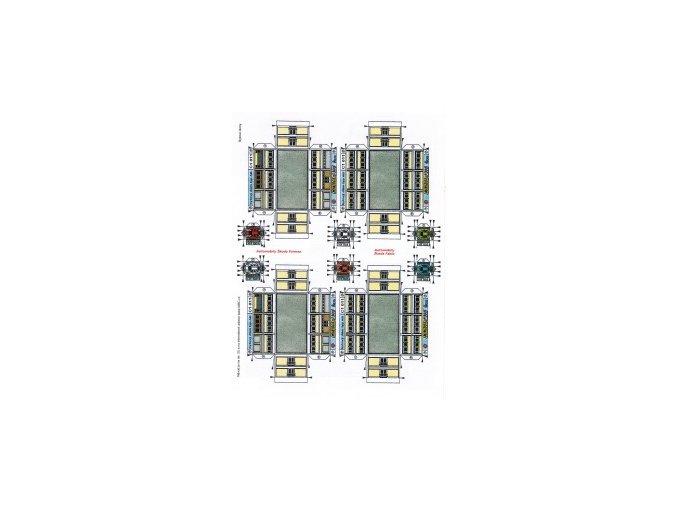 bytový dům typ AB - 2x přízemí + 2x patro + 3x Skoda Forman + 3x Škoda Fabia