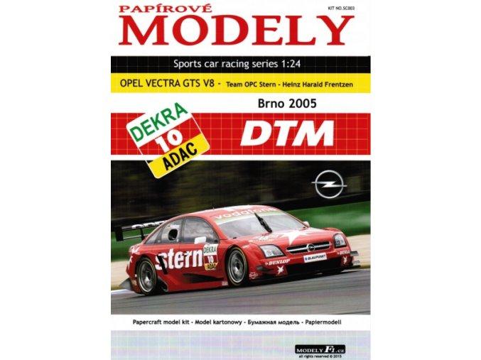 Opel Vectra GTS V8 - Team OPC Stern