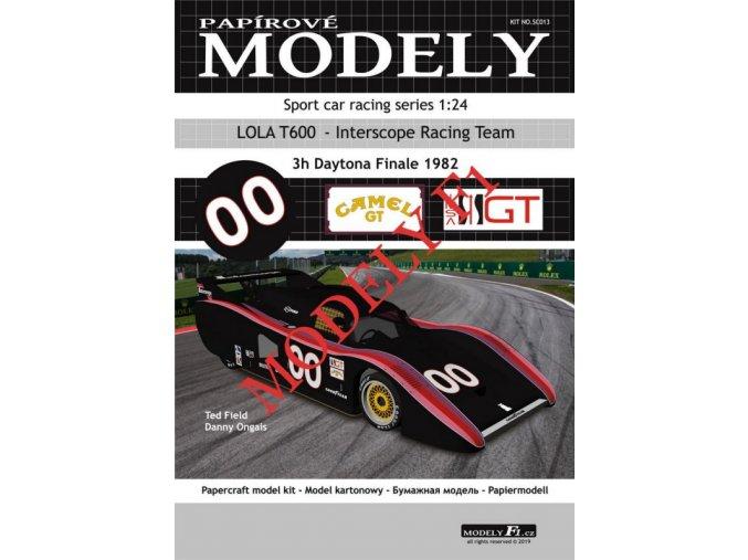 LOLA T600 - Interscope Racing Team