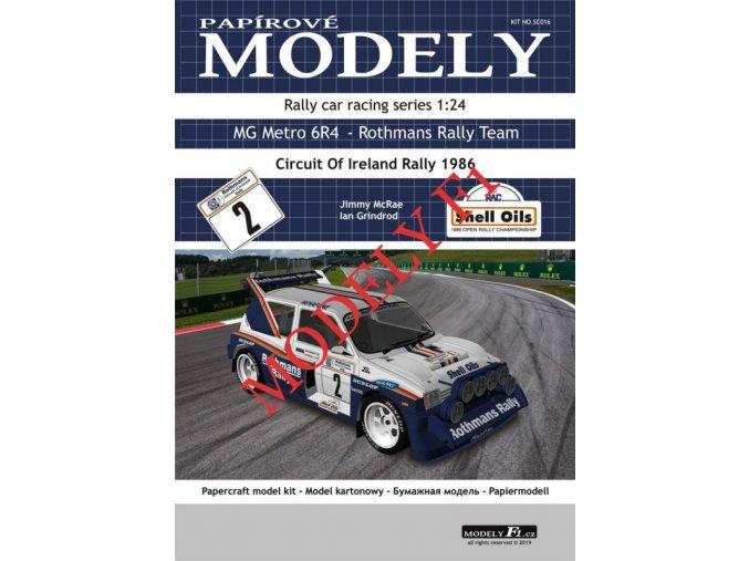 MG Metro 6R4 - Rothmans Rally Team