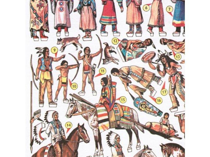 Indiánský tábor + lovecká kanoe Algonkinů