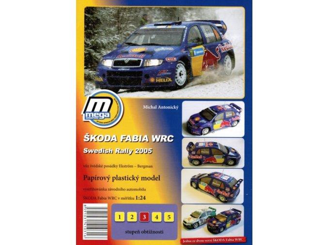 Škoda Fabia WRC Swedish Rally 2005 [11]