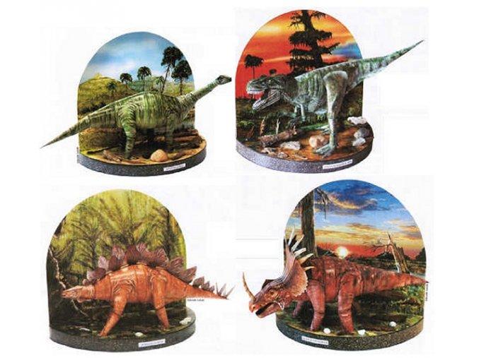 Apatosaurus + Tyrannosaurus rex + Stegosaurus + Styrakosaurus