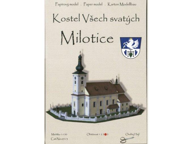 Milotice - kostel Všech svatých