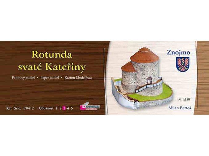 Znojmo - rotunda svaté Kateřiny