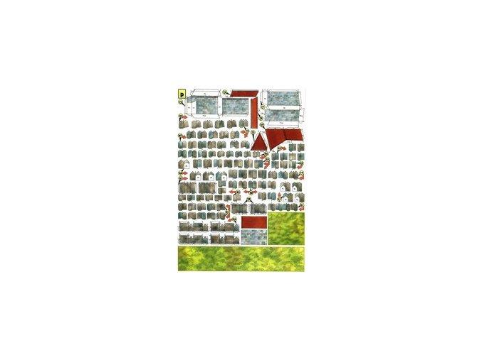 čp.68, hřbitov, terénní díly