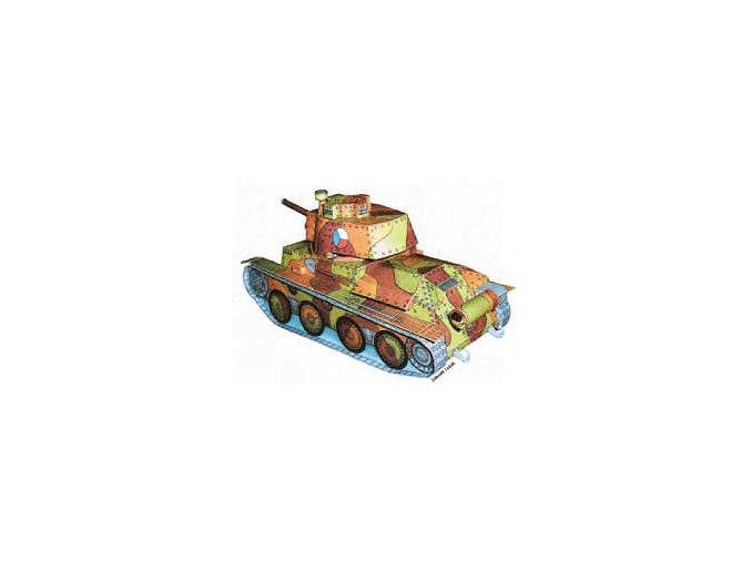 Lt. vz. 38 + figurky vojáků