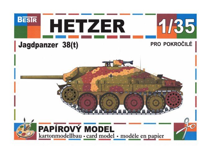 Jagdpanther 38(t) Hetzer