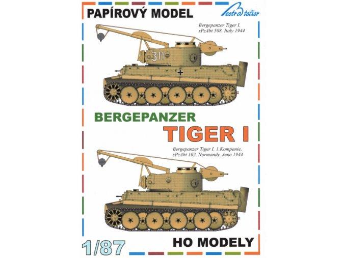 Bergepanzer Tiger I  (Sd.Kfz.185) - 2ks