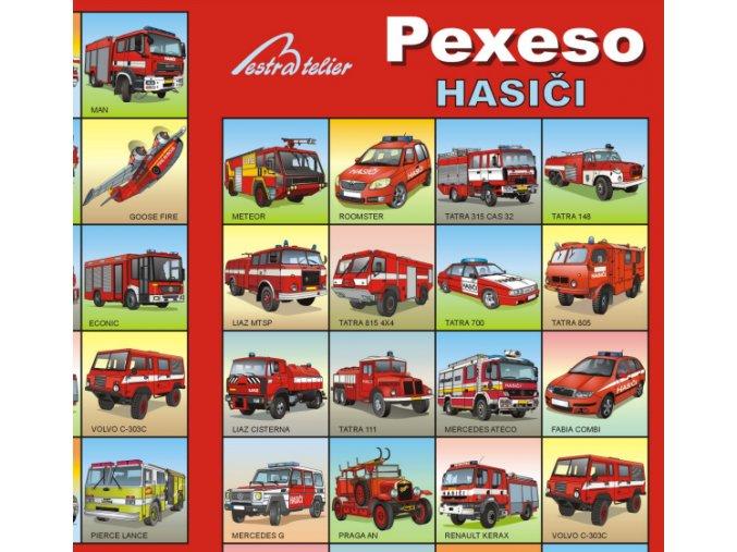 Pexeso - Hasiči