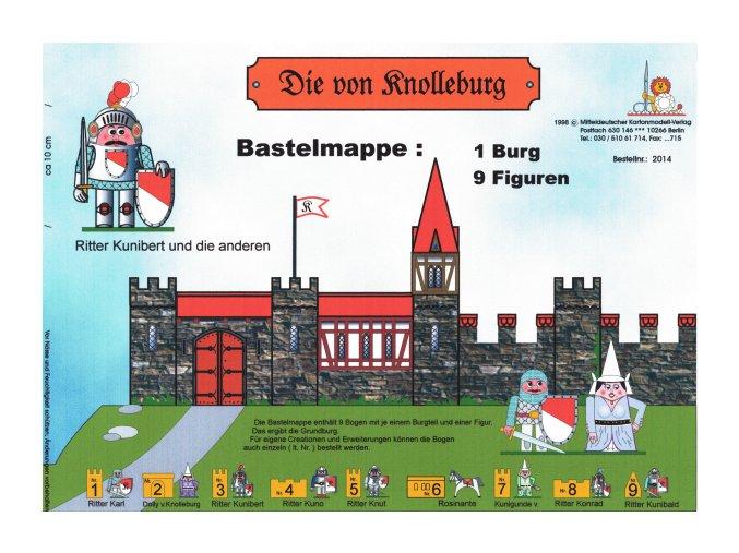 hrad s figurkami