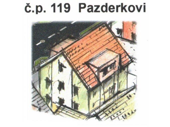 č.p. 119 Pazderkovi, Lipová ulice