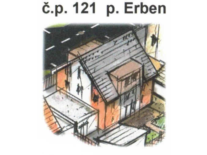 č.p. 121 p. Erben, Lipová ulice