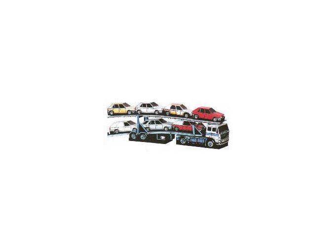 Liaz 110.581 + NPA-7 + 7x Škoda (Favorit + Forman)
