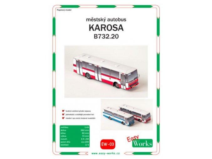 Karosa B732.20 - DP Praha (červená)