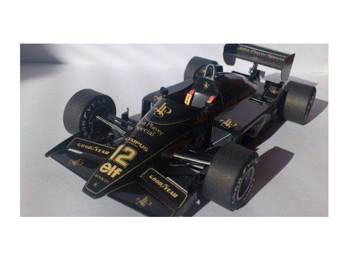 Lotus Renault 97T - 1985 + doplňky