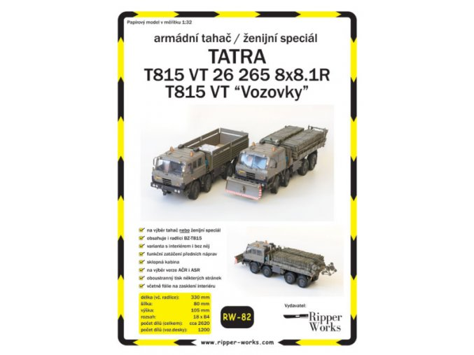 Tatra VT 26 265 8x8.1R - 2 verze