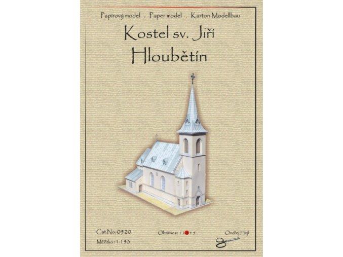 Hloubětín - kostel sv. Jiří