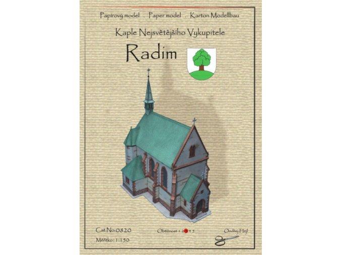 Radim - kaple Nejsvětějšího Vykupitele